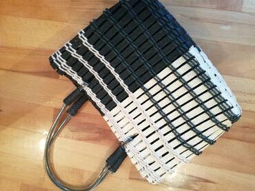 Pletena jaknica - Srbija: Pletena torba