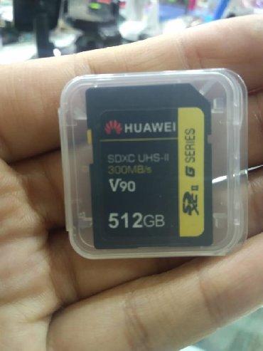 телефоны huawei в Азербайджан: Huawei Orijinal 512GB Sd kart
