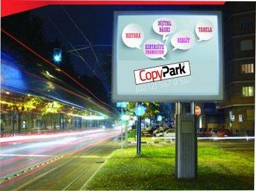 Gəncə şəhərində Yol qiragi ucun reklam siti eni-6m hundurutu 3m yerden durbanin