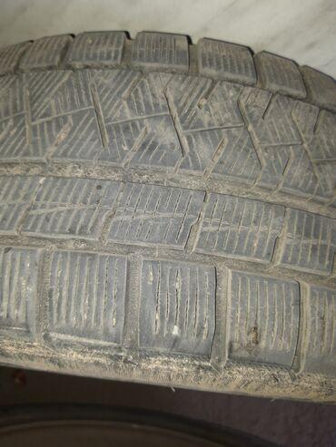 шины бу купить в Кыргызстан: Передний 2 зимные новые купили с пакета используем уже 2 месяца две