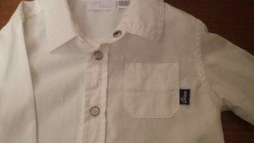 детская джинсовая рубашка в Азербайджан: Детская рубашка. одели 1раз, как новая. Chicco