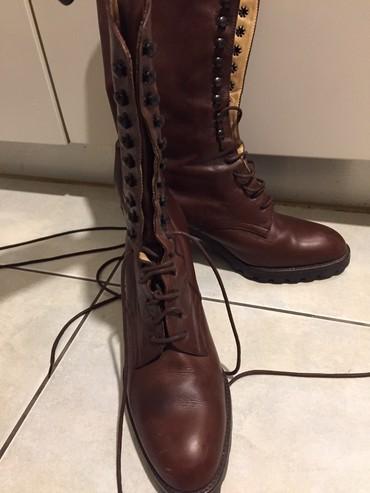 Καλογήρου .Δερμάτινες μπότες σε Agriníou