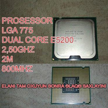 Bakı şəhərində Prosessor (CPU) E5200 Dual Core