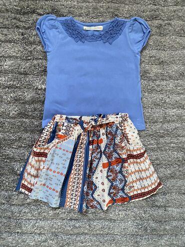 Zara suknja i majica, vel 5-6