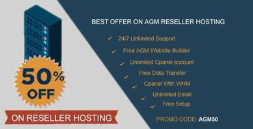 Zero Signup Fee and 50% Discount! Isn't it so amazing? AGM Web in Kathmandu