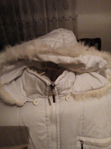 Bela ženska, zimska jakna, ne propušta sneg i kišu - Beograd - slika 2