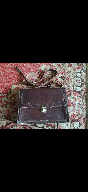 сумка для переноски ребенка в Кыргызстан: Новый кожанный портфель, барсетка, кожаная сумка. Из натуральной
