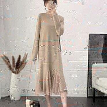 теплые платья для полных в Кыргызстан: Женская одежда: платья, кофты, свитера