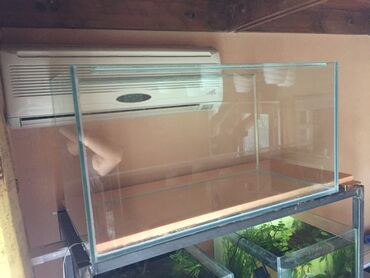Продаю новый аквариум 135 литров (80х40х42) из 8мм стекла