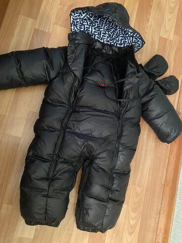 Детская одежда и обувь - Кыргызстан: Комбинезон зимний Fendi. Б/у, но состояние отличное! Размер Xl - на 1-