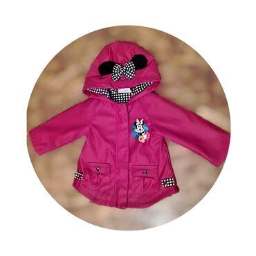 Классная курточка плащевка Мини Маус от Disney!на замочке и
