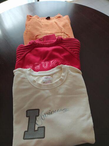 3 duksa (džempera), crveni(jack&jones) xl, narandžasti (diesel)