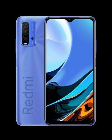 10177 elan | MOBIL TELEFON VƏ AKSESUARLAR: Xiaomi Redmi 9T | 256 GB | Göy | Face ID