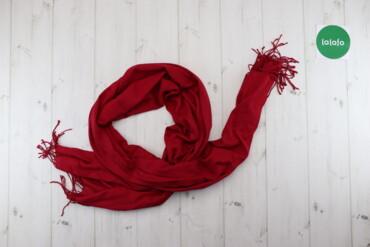 Жіночий шарф з бахромою    Довжина: ≈182 см Ширина: 70 см  Стан: дуже