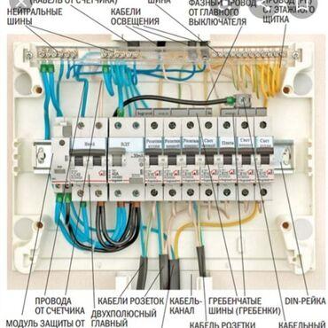 Работа - Манас: Электрик. Больше 6 лет опыта