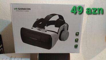 tv box - Azərbaycan: Videolara və s. 3D baxış üçün VR Shinecon Box