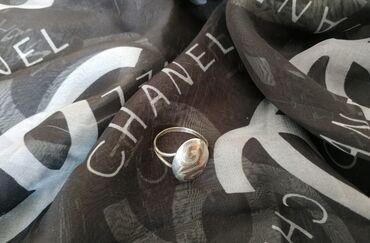 Серебряную колечку и сережку - Кыргызстан: Продаю серебряное кольцо в национальном стиле, размер 17-18