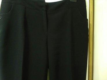 Ženske crne klasične pantalone , veličina 54 kao nove obučene samo - Pozarevac