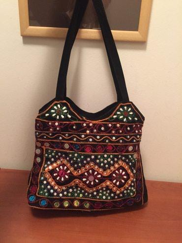 Unikatna torba iz Indije, rucni rad. - Vrsac