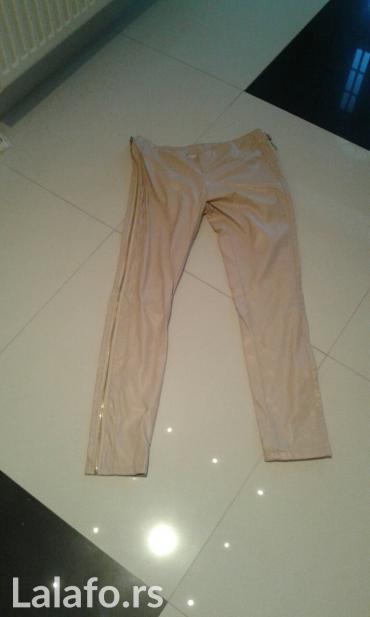 Kozne pantalone sa zipzarima sa strane novo veličine xs s m l - Backa Palanka