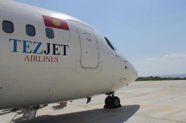 tez kabar в Кыргызстан: Авиакомпания «tez jet» выполняет ежедневные рейсы по направлению