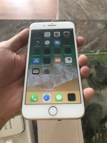 Iphone 8 plus gold 64 gb полный комплект реальному клиенту торг в Бишкек - фото 3