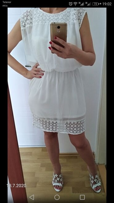 Haljine | Kovin: Prelepa haljina, vel. L, ima postavu celom dužinom i nije providna, u