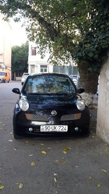 Bakı şəhərində Nissan march satilir,2004 il,problemsiz