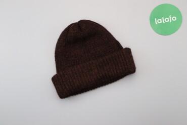 Жіноча в'язана шапка    Довжина: 21 см Ширина: 25 см  Стан: дуже гарни
