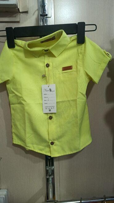 платья рубашки на пляж в Кыргызстан: Мальчиковые рубашки с 2 до 6 лет по 350 сом. С 7 до 12 лет