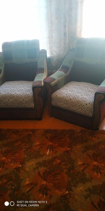 продам кресло кровать in Кыргызстан | ДИВАНЫ: Продаю мяхкую мебель кресла кровать табуретки и т д