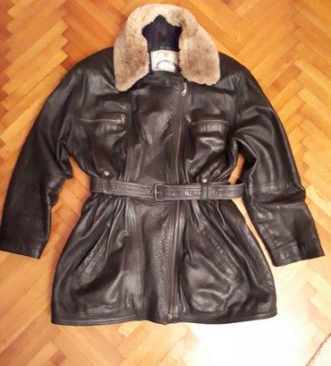 Kožna jakna, ženska, xxl. širina ramena 54, obim grudi 110 cm, - Smederevska Palanka
