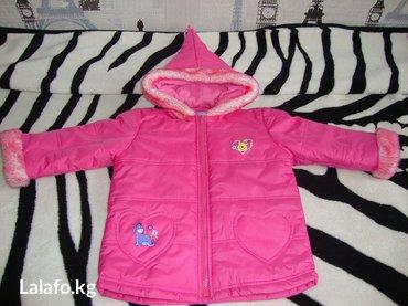 Курточка деми на девочку 4-5 лет (новая) в Бишкек
