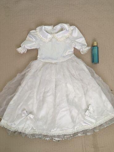 Детское платье лет-7-8 (не успела погладить )