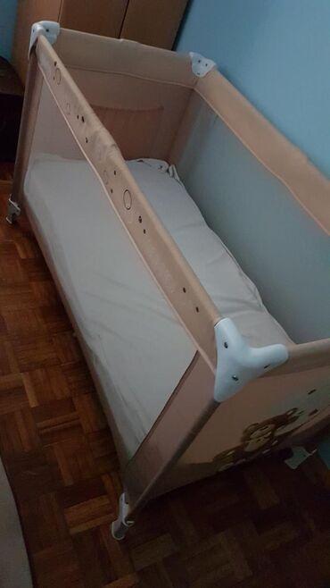 in Kovin: Prenosivi krevetac,kao nov, malo koriscen