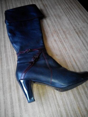 Продаю б\у сапоги ботфорты 39 размера, в Бишкек