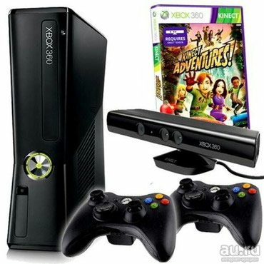 Xbox 360 slim 250gb Freeboot, кинект  в Кант
