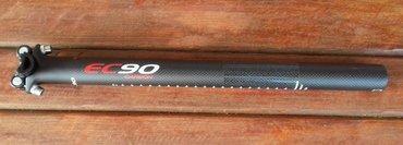 Bicycle karte - Srbija: KARBON sticna za bicikl 31,6mm 400mm crna mat