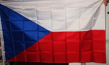 Zastava Češke - Češka republika, nova, upakovana, dimenzija - Beograd