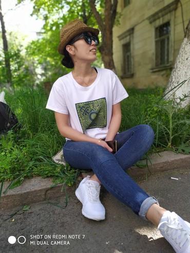 футболки-с-печатью в Кыргызстан: Оптом футболки. Бишкек.  Прямая печать. Качество отличное! Ткань- туре