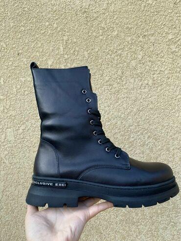 инверсионные ботинки бишкек in Кыргызстан   ГРУЗОВЫЕ ПЕРЕВОЗКИ: Деми сезонный ботинки натуральной кожи производство Турция