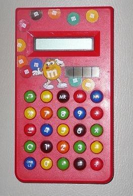 """""""M & M"""" калькулятор для детей ярко в Бишкек"""