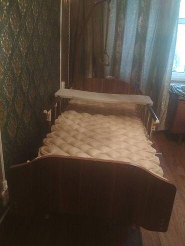 массажное кресло бишкек цена в Кыргызстан: Продается многофункциональный кровать с матрасом  и инвалидное кресло