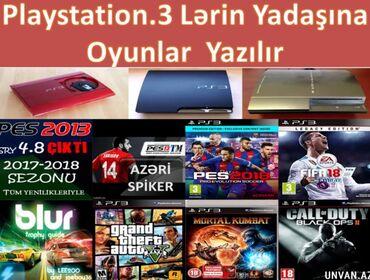 playstation 3 satilir teze в Азербайджан: Playstation3 bütün madeleleri prAsifka.olunur!4.86 HenBazada 100.den