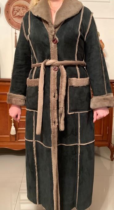 женское платье 52 в Кыргызстан: Одежда Дубленка.Отличная необычная женская дубленка,размер 50-52
