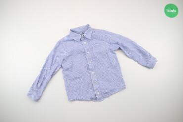 Топы и рубашки - Голубой - Киев: Дитяча сорочка у дрібну клітинку, зріст: 110/116 см   Довжина: 46 см Ш