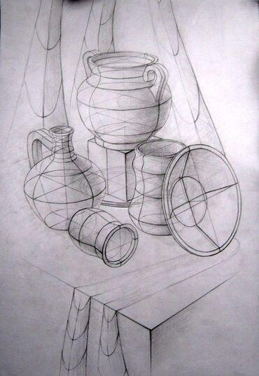 жеке менчик в Кыргызстан: Уроки рисования | В классе, Индивидуальное, Групповое