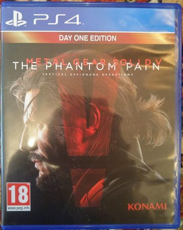 Bakı şəhərində Metal Gear Solid V: The Phantom Pain для Playstation 4