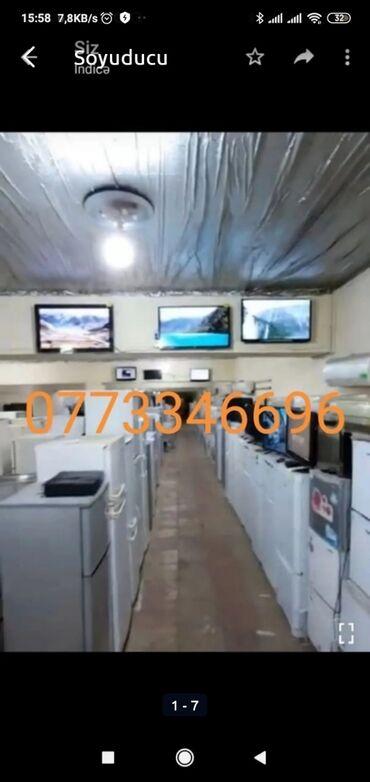 Витринный холодильник для мяса - Азербайджан: Белый холодильник