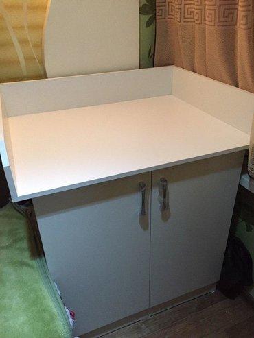 Продаётся детский пеленальный столик, белый цвет, качество новое, дела